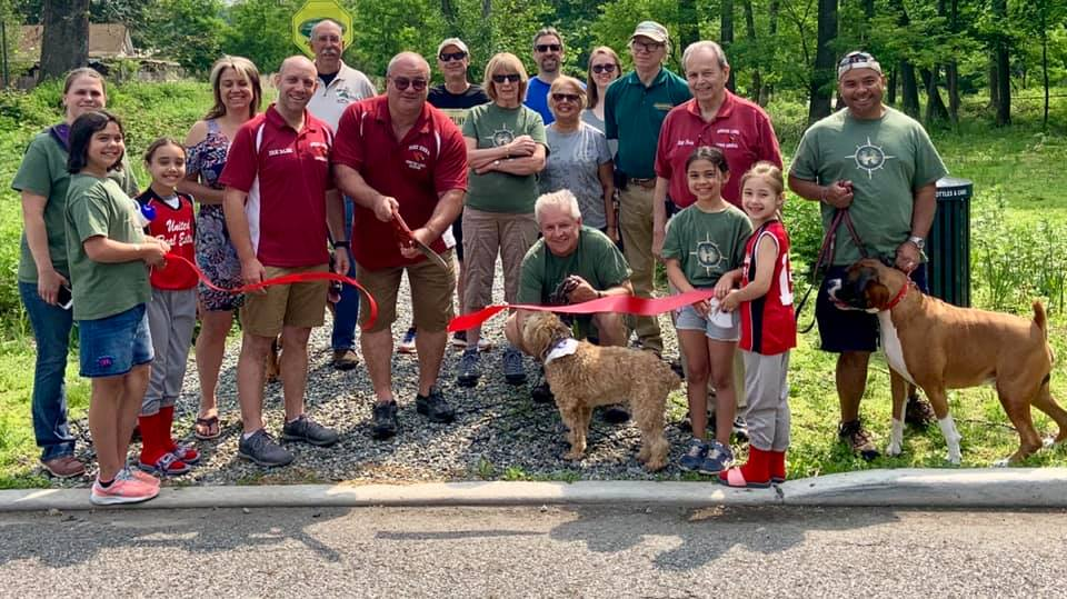 Morris Canal Greenway Ribbon Cutting