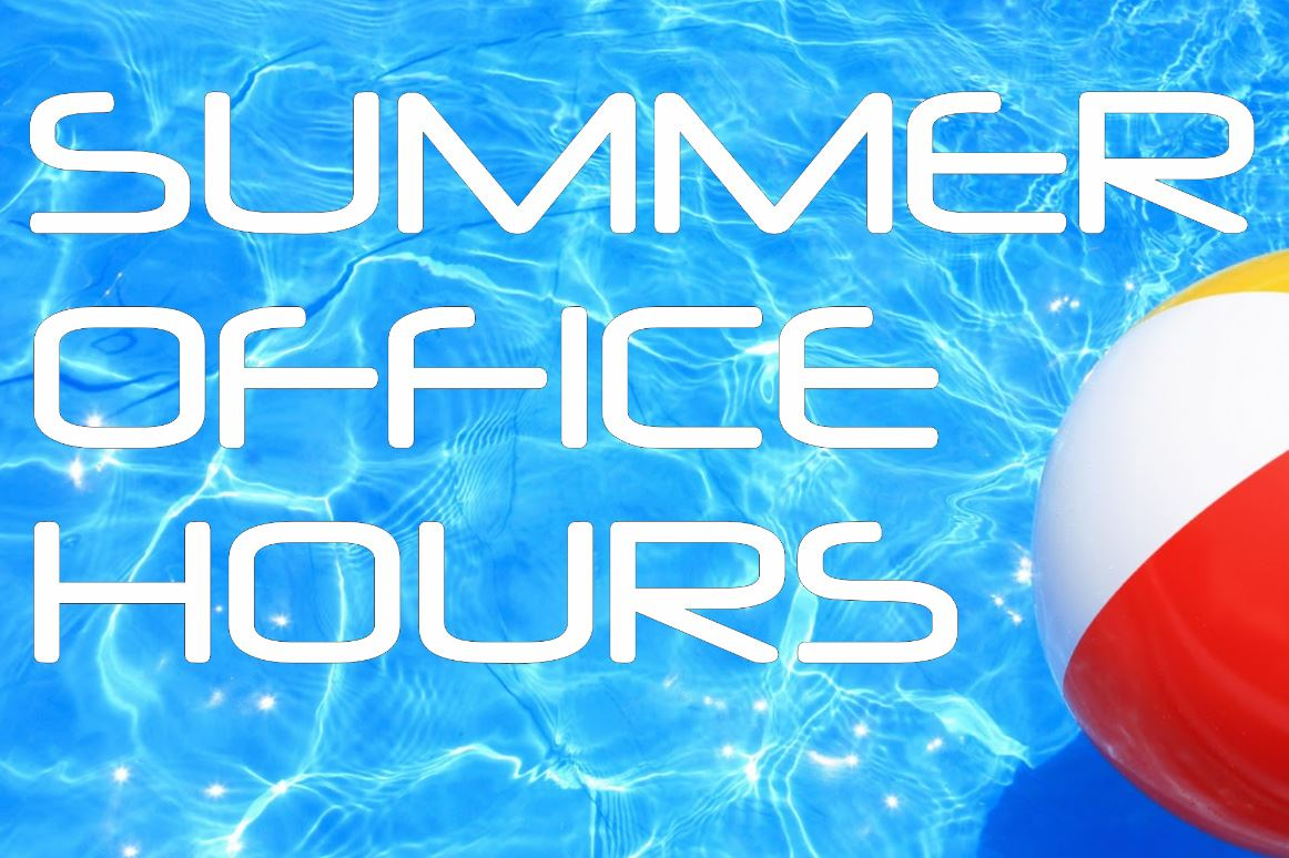 Summer-Office-Hours